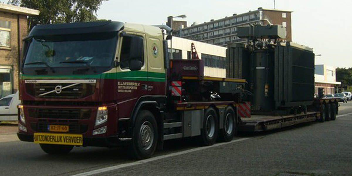 01 3-assige dieplader tot 15 ton